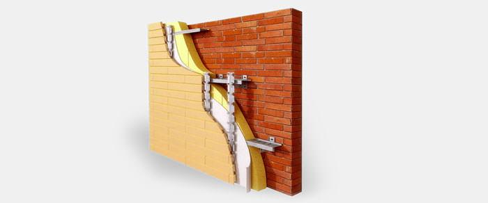 Вентилируемый фасад и его поразительные вентилируемые свойства. Изготовление и монтаж Вентфасадов (НВФ). - Марморок