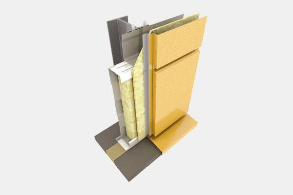 Облицовка фасадными металлокассетами