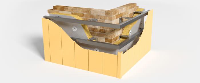 Вентилируемый фасад и его поразительные вентилируемые свойства. Изготовление и монтаж Вентфасадов (НВФ). - Вертикальный металлосайдинг