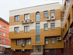 Фасадные металлокассеты закрытого типа крепления