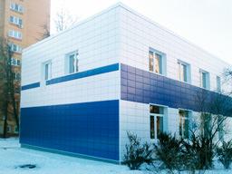 Производство, поставка и монтаж линеарных панелей для административного здания